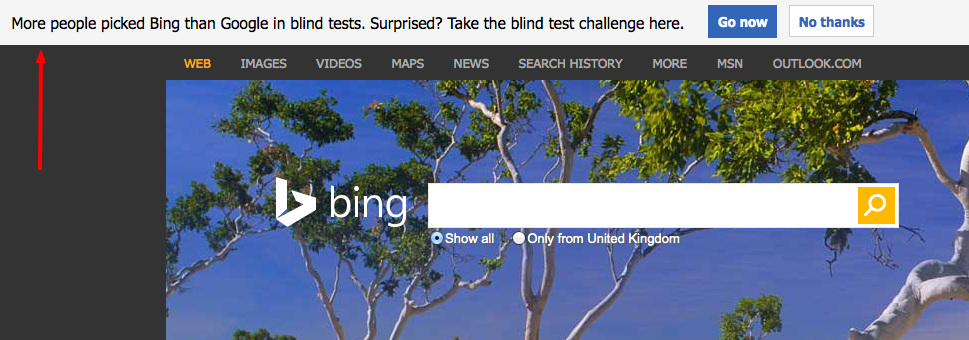 Bing Blind Test