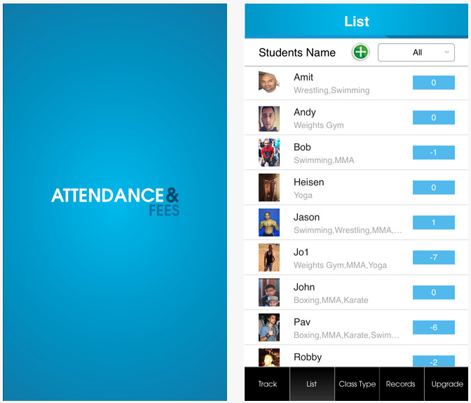 Attendance & Fees on the App Store